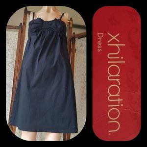 Xhilaration Black Bowed Dress